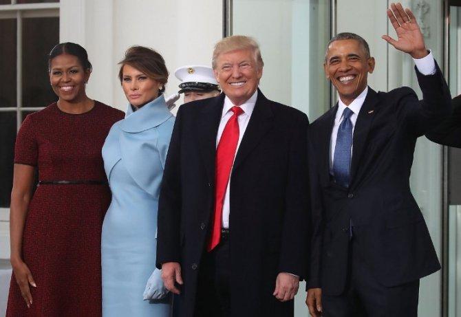 Инаугурация Трампа. Яркие моменты...Юлия Витязева