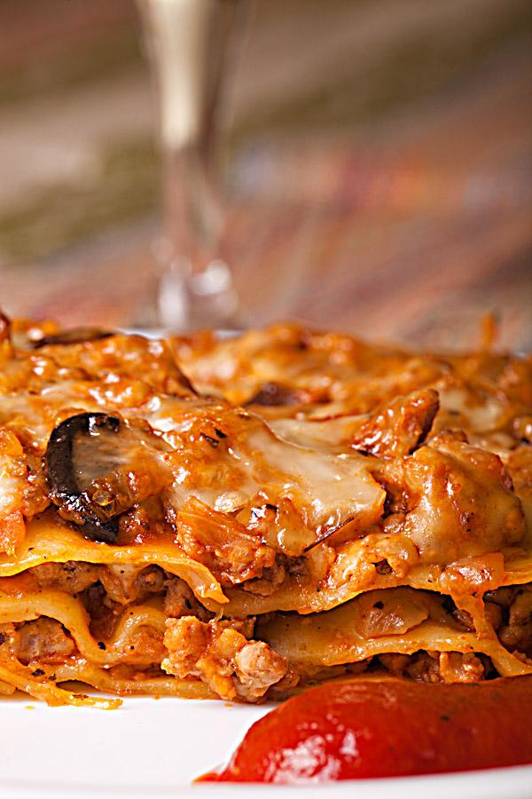 Лазанья или пирог с мясом по итальянски
