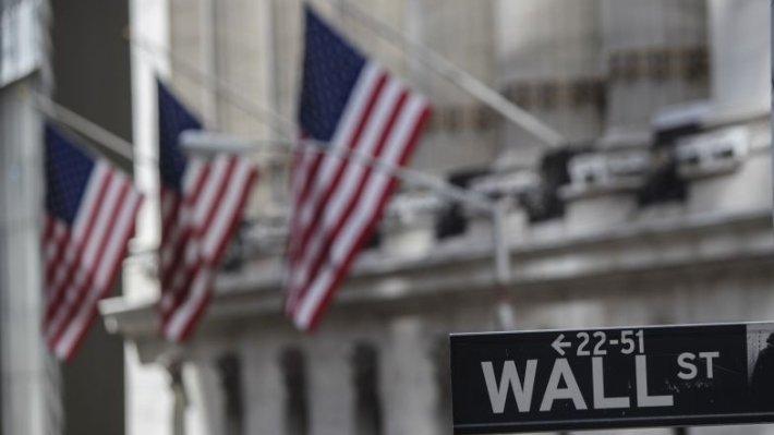 Биржи США просели на опасениях «шатдауна» правительства