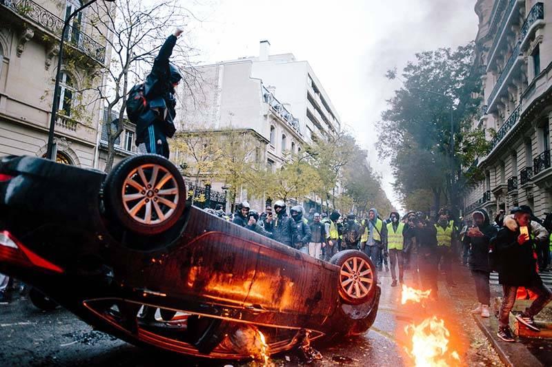 Как предсказываются будущие массовые беспорядки