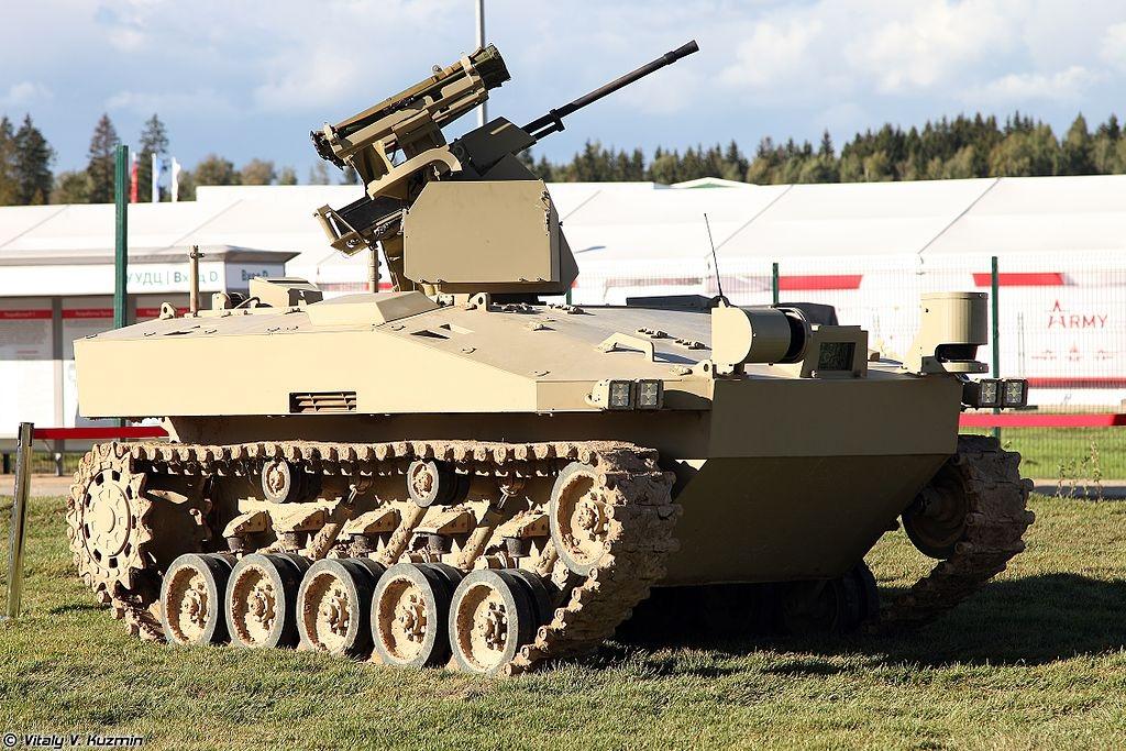 National Interest: производитель АК-47 разрабатывает для России реальных «терминаторов»