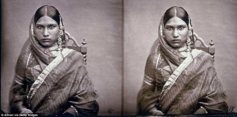Многочисленные жены индийского махараджи в объективе его фотоаппарата гарем, индия, махараджа, старые фотографии