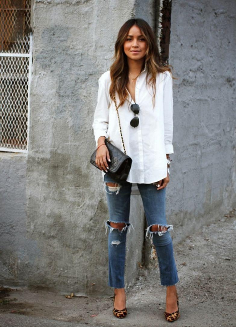 Белая рубашка: самые стильны…