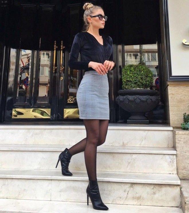Юбки с ботинками для весны 201915 стильных идейкоторые вскружат вам голову