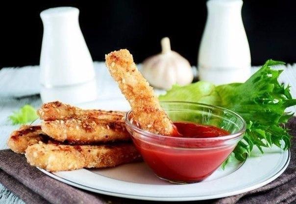Хрустящие куриные «Пальчики» — идеальны для вечерних посиделок