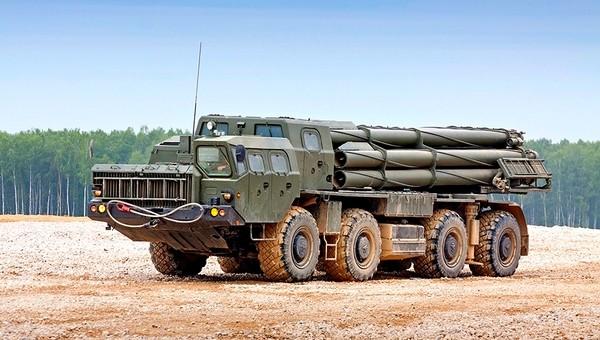 Россия приготовила для НАТО батарею новых «Смерчей»