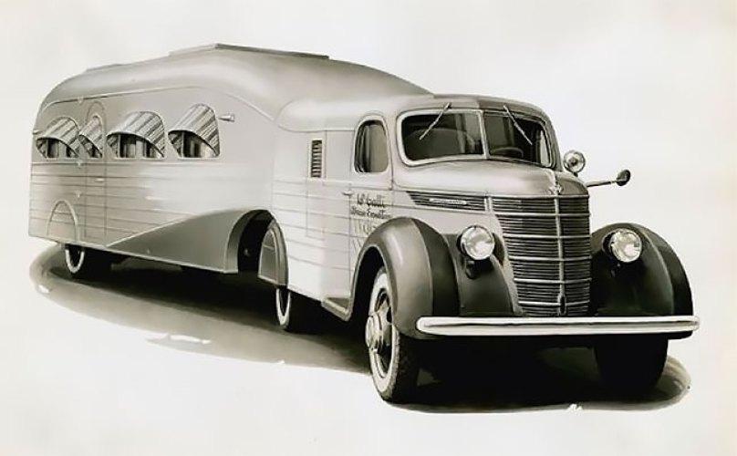 Роскошная квартира на колесах: автокемпинг 1930-х годов