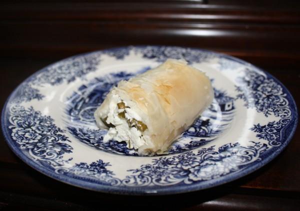 Vertuta with farmer cheese savory