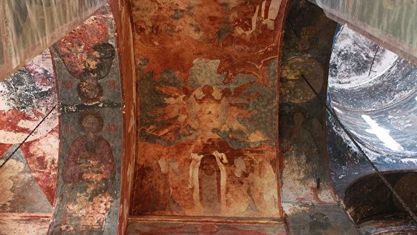 Роспись Успенского собора в Ростове Великом