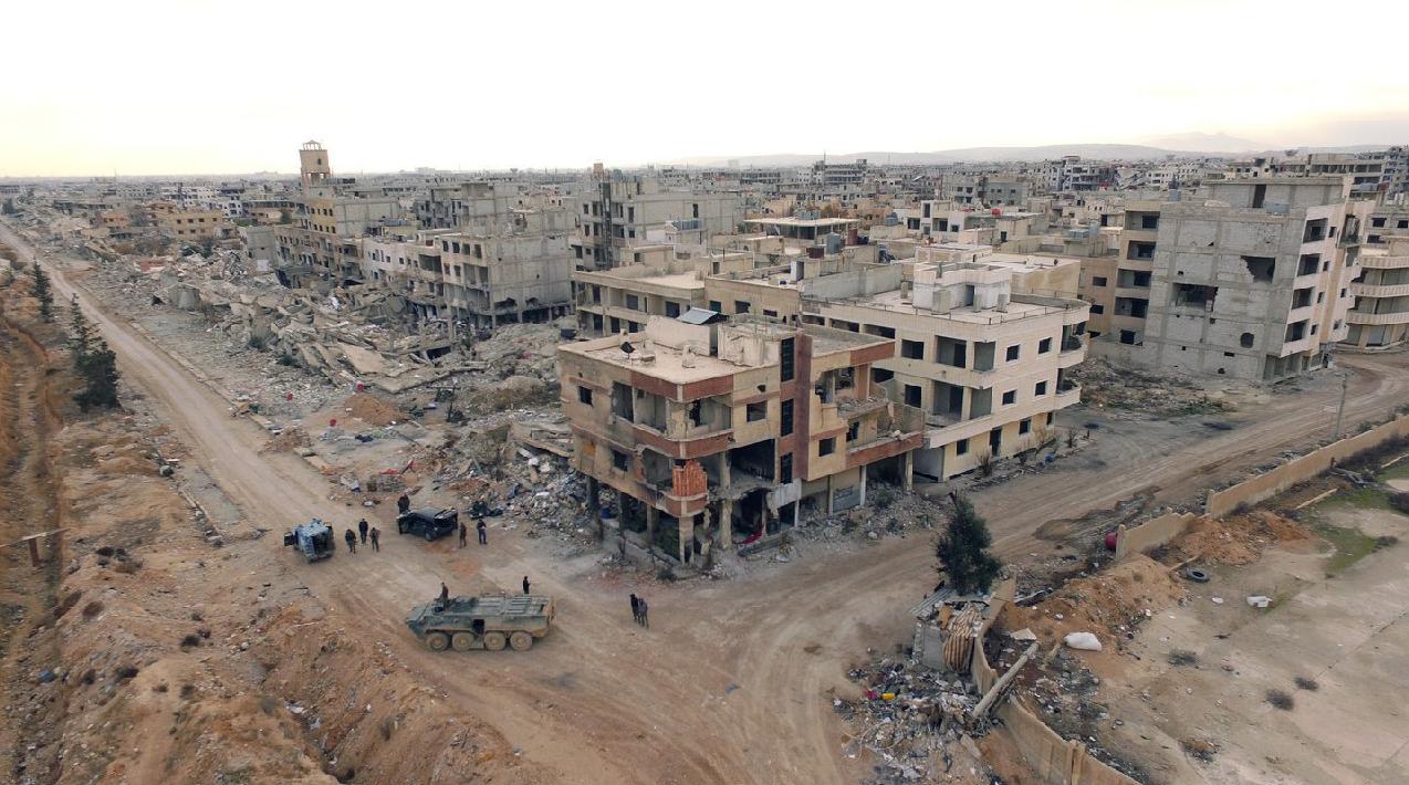ВКС РФ ликвидировали двух полевых командиров ИГИЛ и 180 боевиков в Сирии