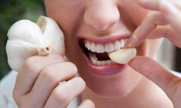 Употребление чеснока укрепляет здоровье