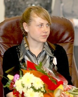 Олеся Пушмина спасла утопающ…