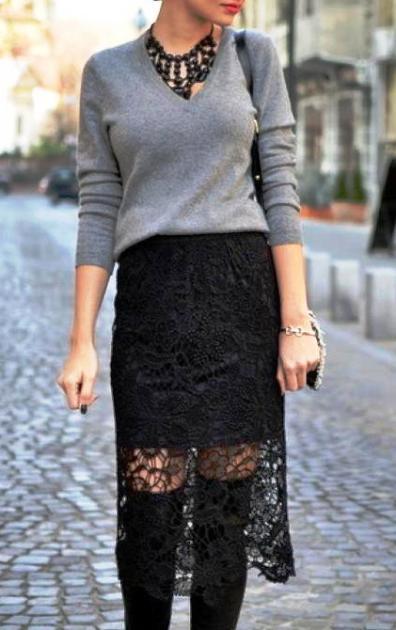 Уличный стиль весны 2017 — такие разные черные юбки