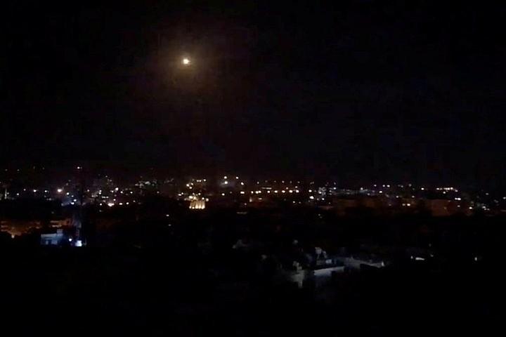 Сирия отразила ракетный удар по военным объектам