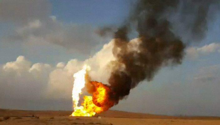 Газовые поля Пальмиры горят:…