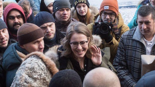 «Би-би-си» раскрыла детали поездки Собчак в США