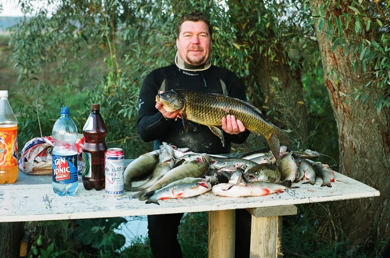 рыбалка на протве в кременках