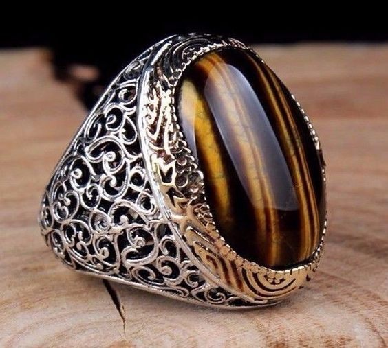Turkish Handmade 925 sterling silver tigers eye Men's Ring Sz 10 us Free Resize | Jewelry & Watches, Men's Jewelry, Rings | eBay! #GoldJewelleryTurkish #men'sjewelry #men'sjewelry #handmadesilverjewelry