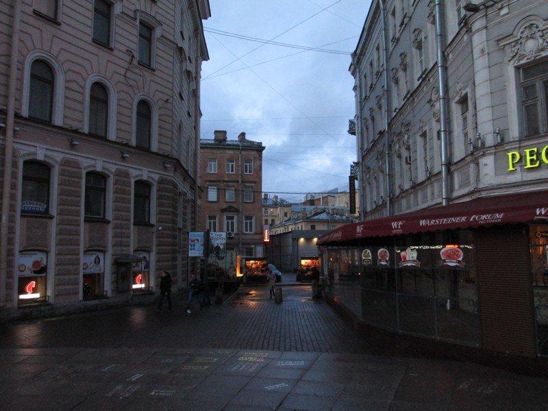 Самый короткий переулок история, питер, факты