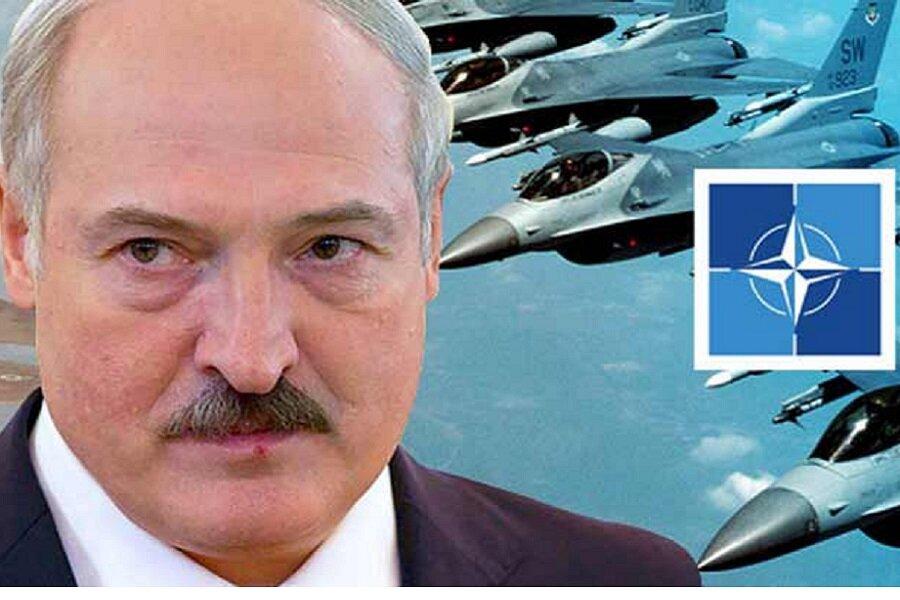 НАТО на защите Белоруссии от Российской агрессии. (Хорош соузничек оказался)
