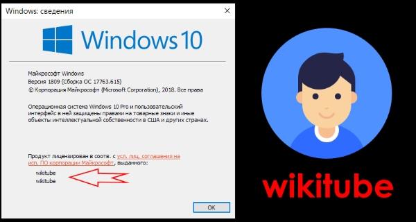 Как изменить зарегистрированного владельца и организацию в Windows 10