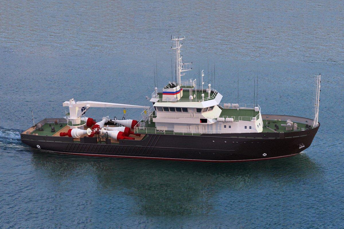 Проект 19910: в РФ заложат новейшее судно «Яков Лапушкин»