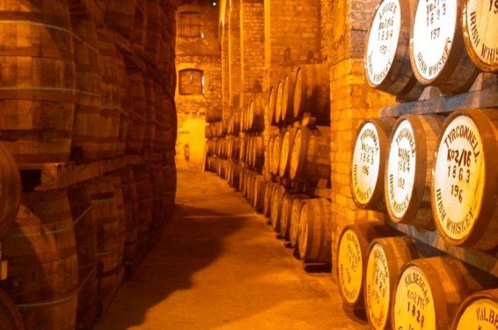 Погреб. Знаменитый шотландский виски.