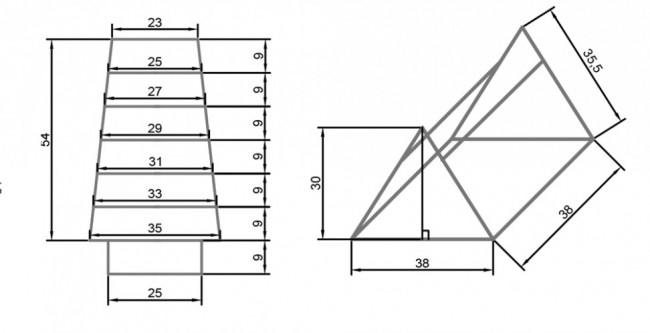 Как сделать простую мельницу для сада схема