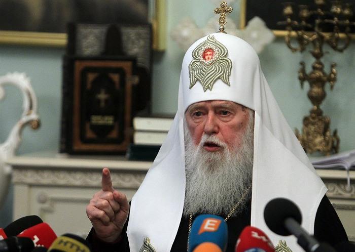 Филарет снова объявил себя патриархом всея Руси