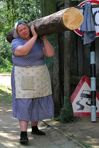 Как-то принято у нас перекладывать проблемы на женские плечи...