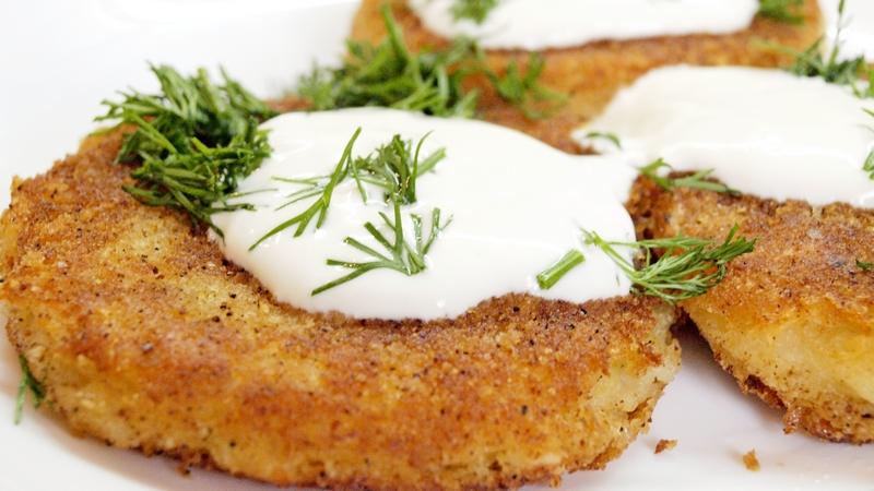Картофельные биточки - видео рецепт