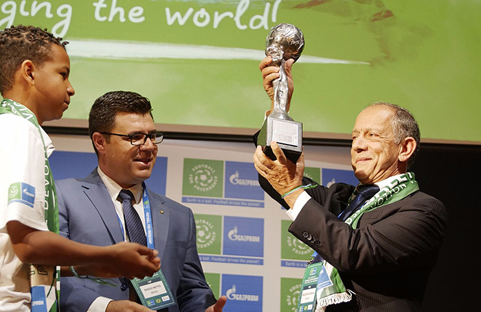 Сборная Бразилии по футболу признана самой социально ответственной командой
