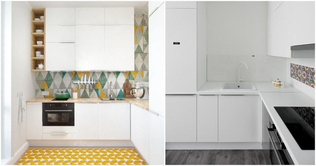 Комфортные маленькие кухни и отличные идеи, которые вы можете использовать