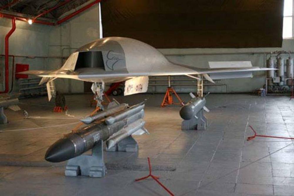 В России создадут боевые беспилотники весом до 15 тонн