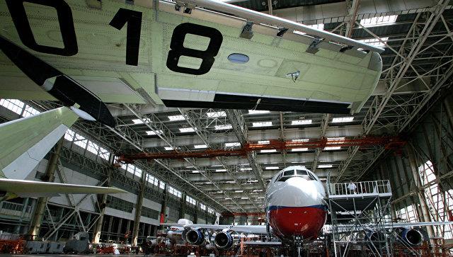 В Воронеже началась сборка нового широкофюзеляжного лайнера Ил-96-400М