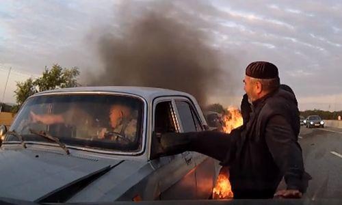 МЧС наградит Кадырова за спасение людей из горящей Волги