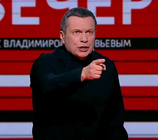Соловьев сильно раскритиковал Ковтуна за его оправдание лагерей для детей, где их учат стрелять в людей