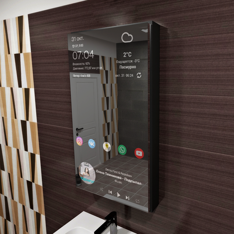 Мебель будущего — шкафчик дл…