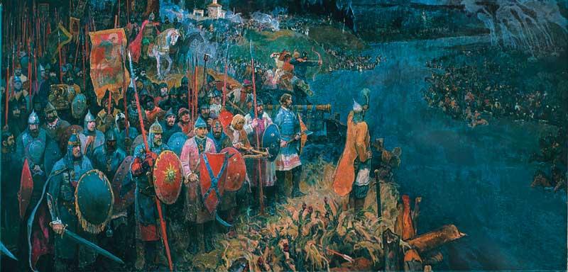 К вопросу о причине отступления татарского войска после стояния на Угре