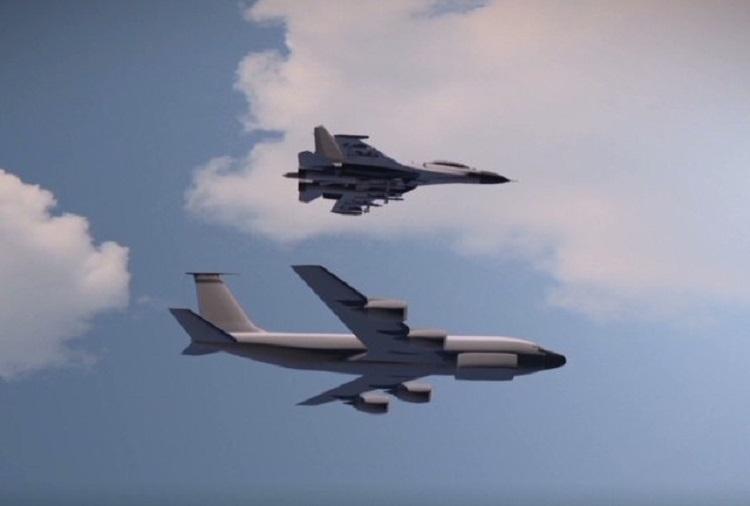 Минобороны сообщило подробности сближения Су-30 и F-15 над Балтикой