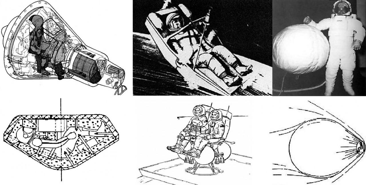 Самые безумные космические корабли