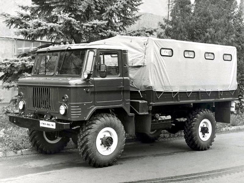 ГАЗ 66-40. авто, история, факты