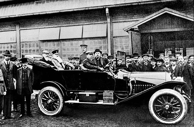 «Руссо-Балт»: Первый русский серийный автомобиль
