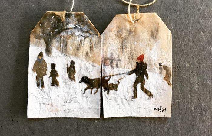 Очаровательные миниатюры на чайных пакетиках, которые возвращают в детство