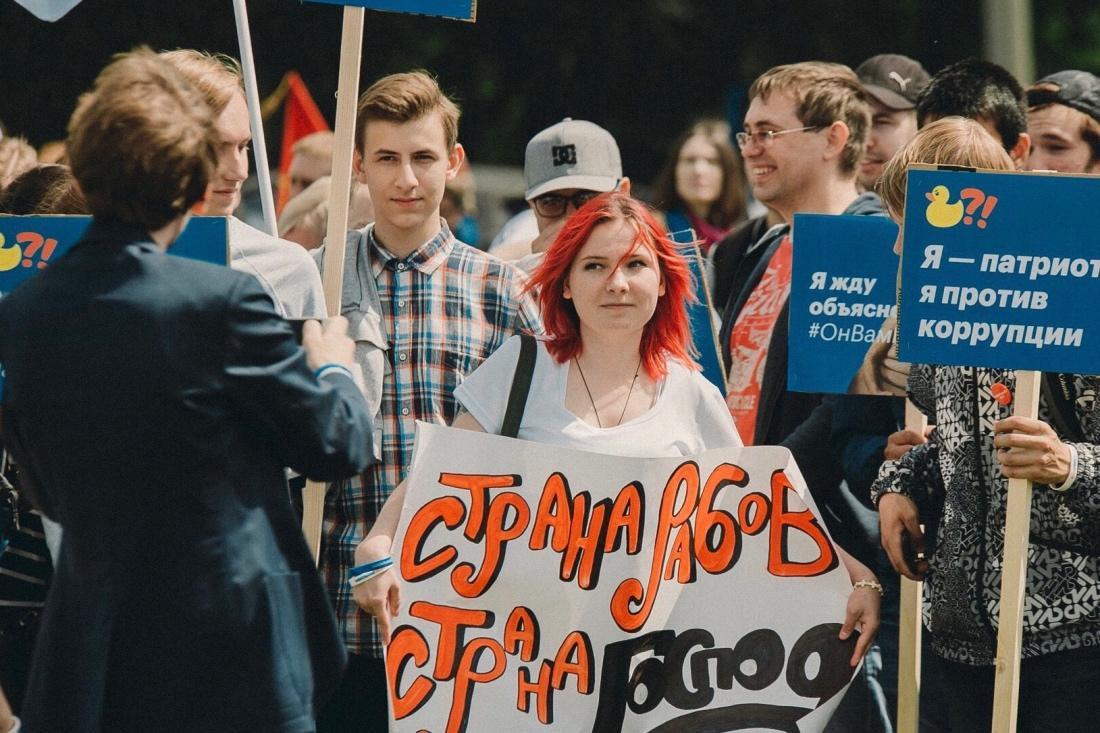 Навальный и его женская грудь. Лена Миро