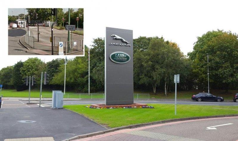 C завода Jaguar Land Rover украли две фуры двигателей