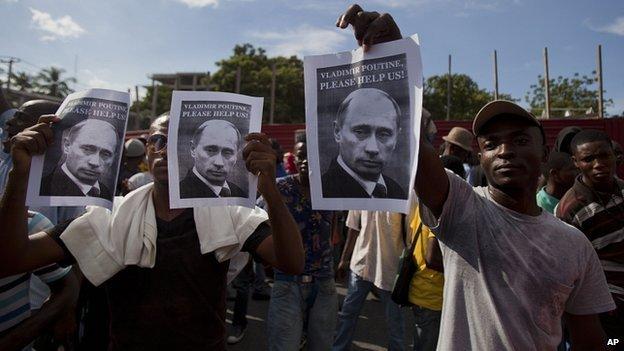 Жители Гаити попросили помощи у России