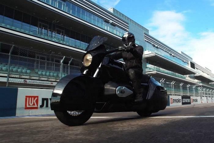 В Сочи протестировали прототип тяжёлого мотоцикла «Иж»
