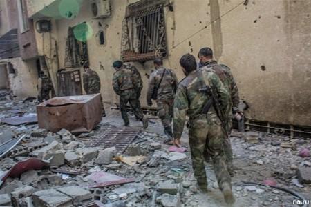 Пал очередной оплот террористов в Сирии