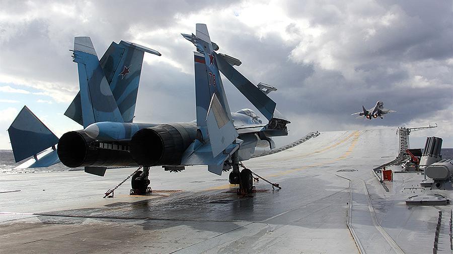 Российский атомный авианосец может станет конкурентом для США